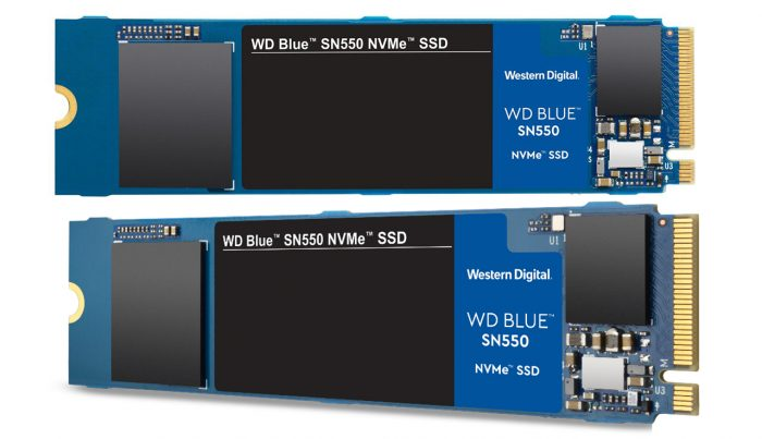 WD Blue SN550 NVMe SSD All