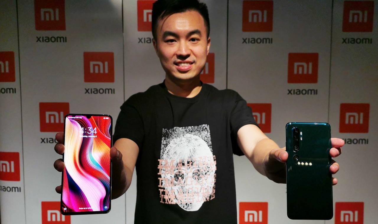Xiaomi Mi Note 10 Pro Peluncuran Header