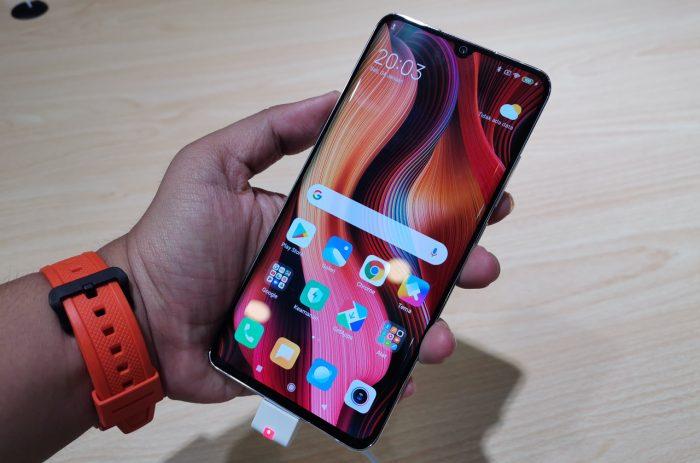 Xiaomi Mi Note 10 Pro Tampilan Depan