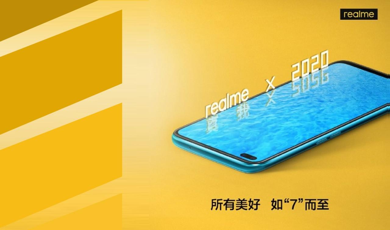 realme X50 5G Leak Poster