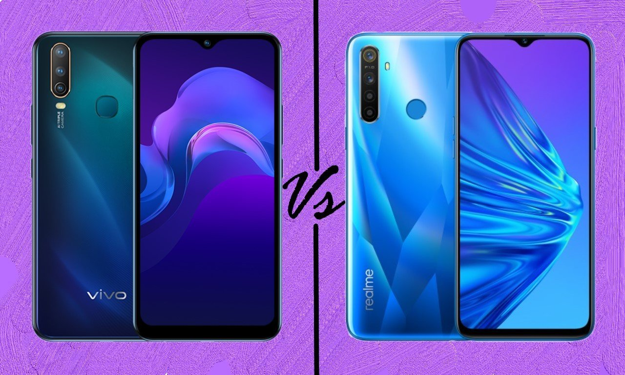 vivo Y15 Vs realme 5 Header