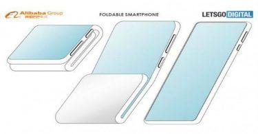 Alibaba Smartphone Foldable Paten