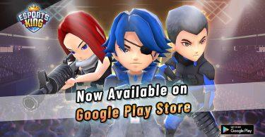 Esport King Play Store Launch Header