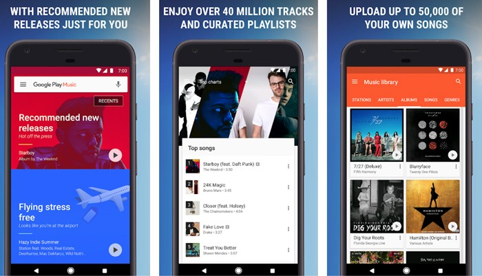 Google Play Music Compose