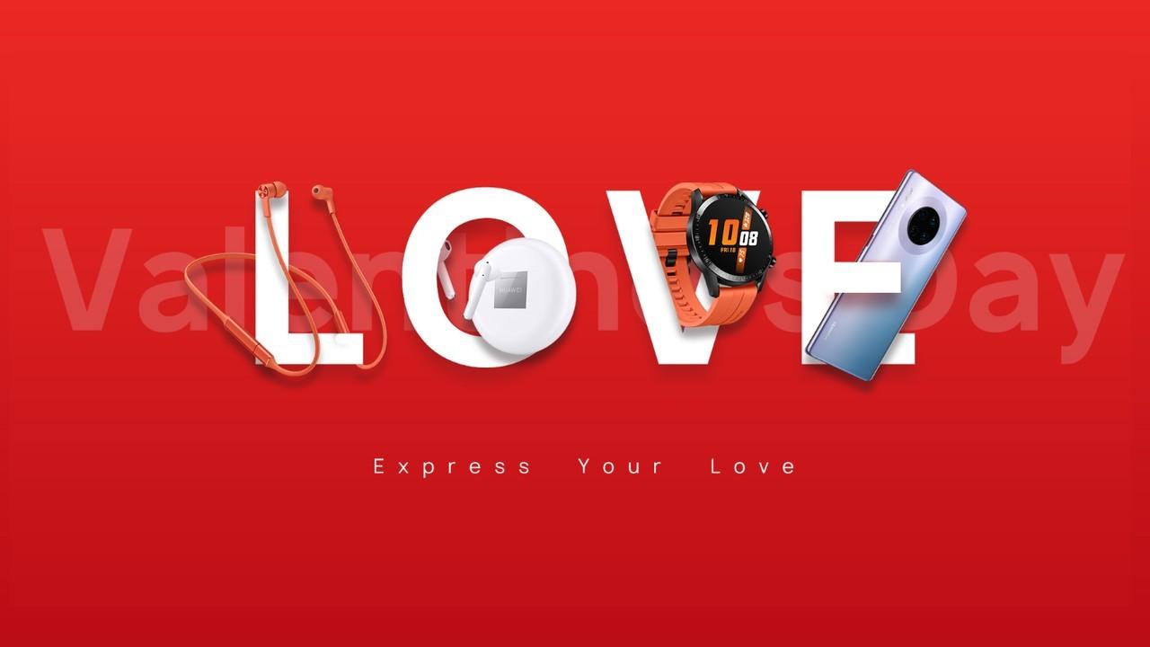 HUAWEI Express Love Valentine 2020 Header