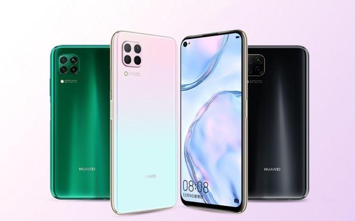 HUAWEI P40 Lite Back Front