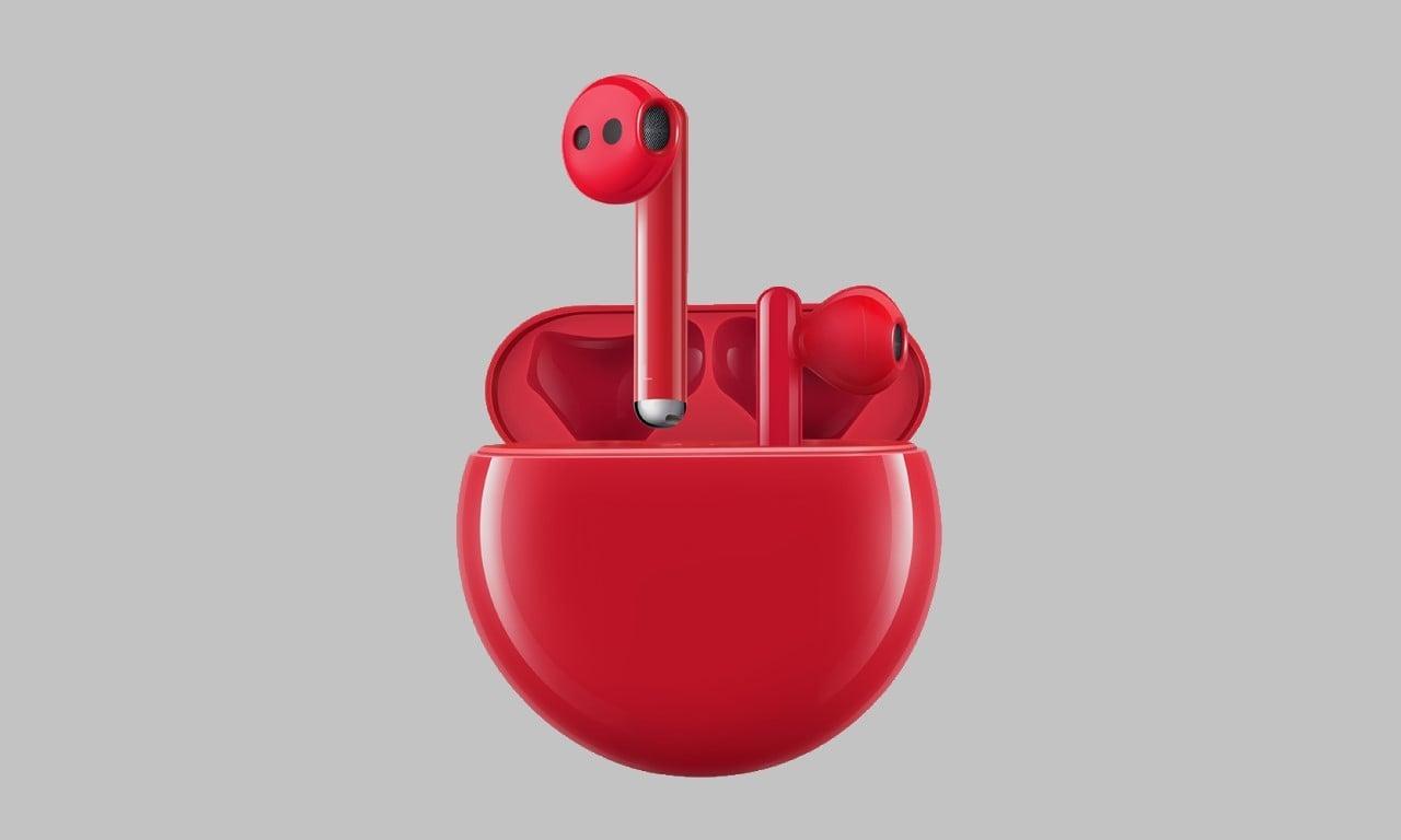 Huawei FreeBuds 3 Red Edition Header