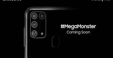 Kamera L Samsung Galaxy M31