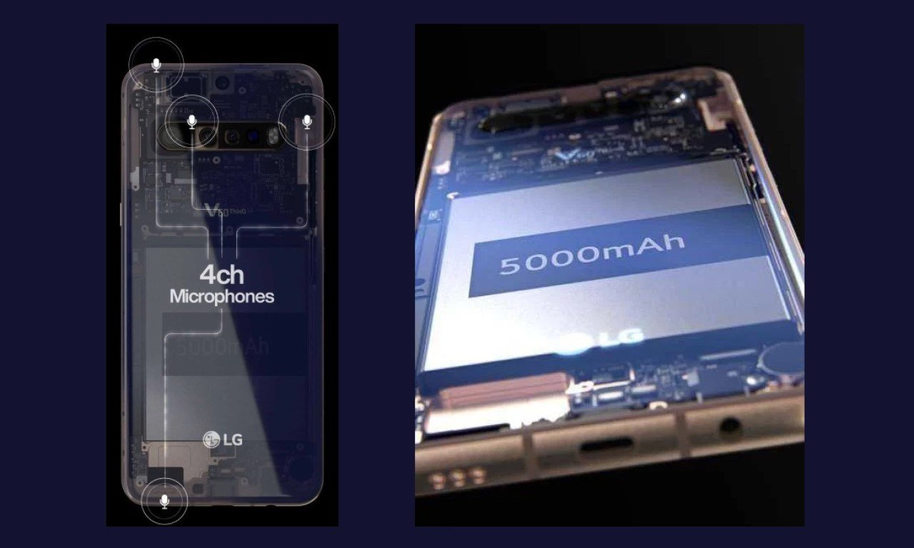 LG V60 ThinQ Leak Header