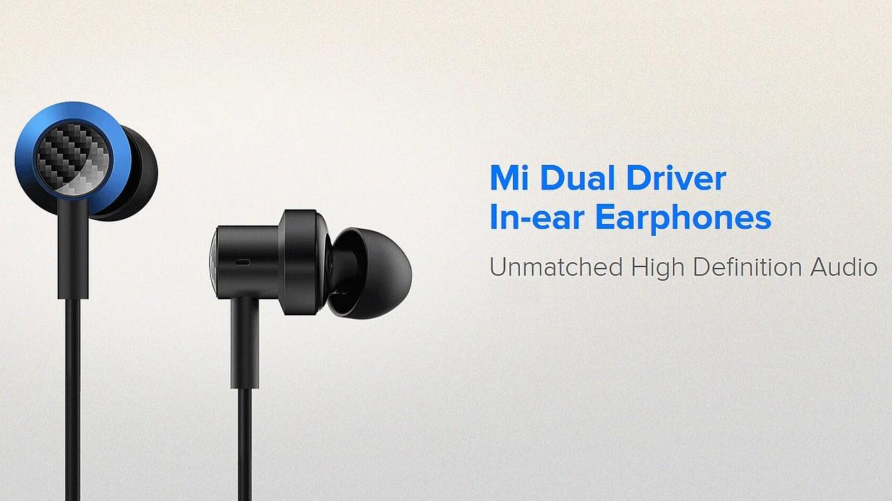 Mi Dual Driver Earphone Header