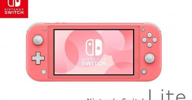 Nintendo Switch Lite Pink Twitter Header