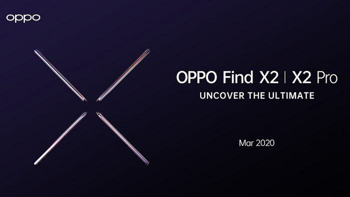 OPPO Find X2 Pro Release Poster Header
