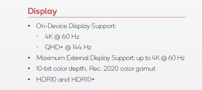 Spesifikasi teknis layar Find X2