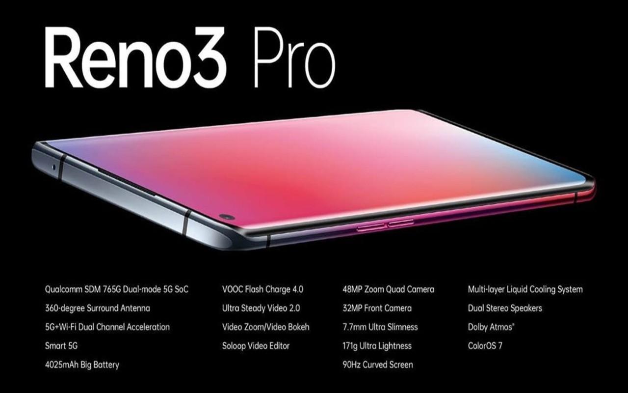 OPPO Reno3 Pro India 4G