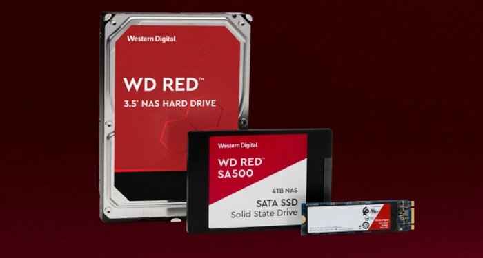 SSD HDD WD Red All