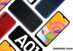 Samsung Galaxy A01 Header