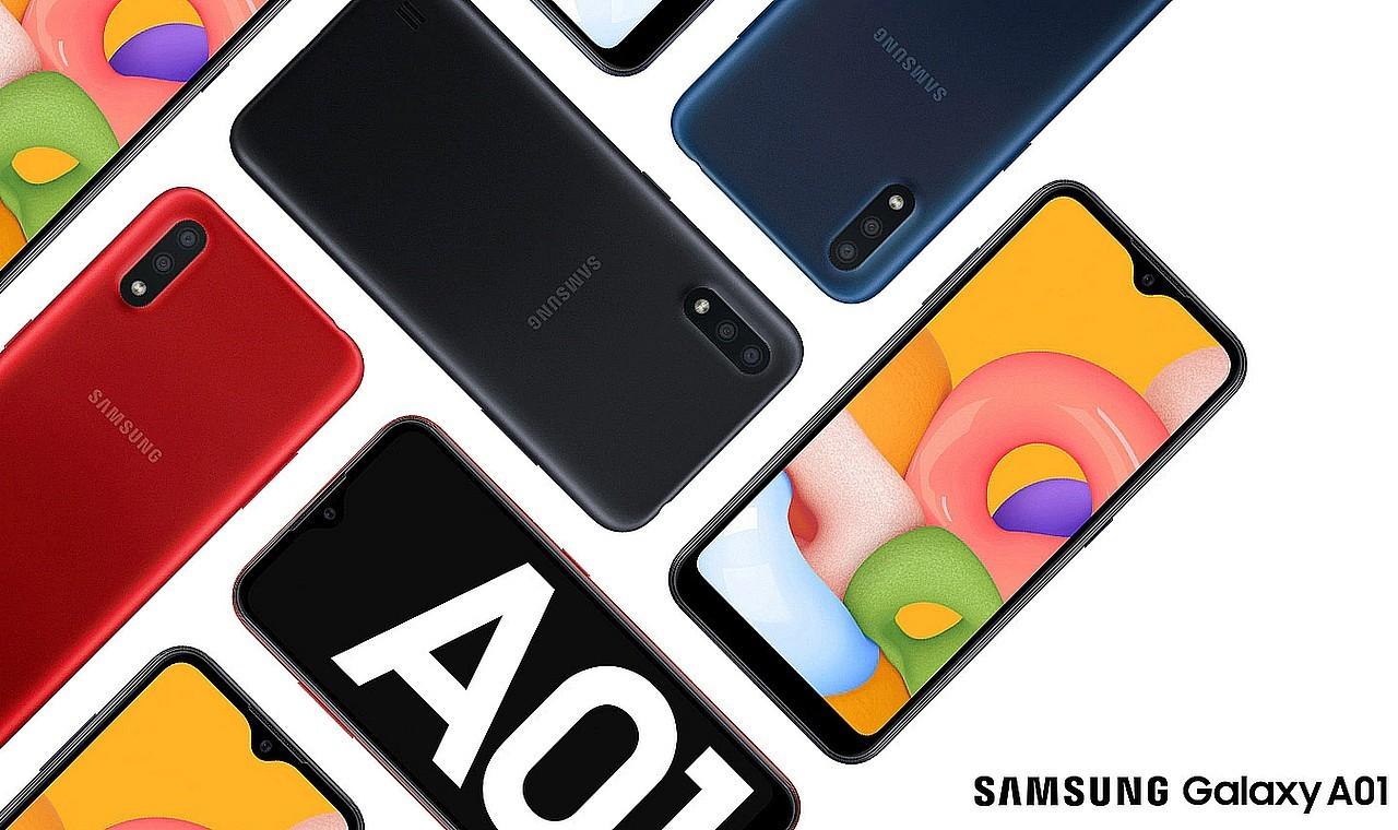 Cara Screenshot Samsung Galaxy A01 Header