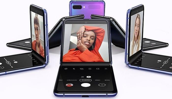 Samsung Galaxy Flip Z Ungu