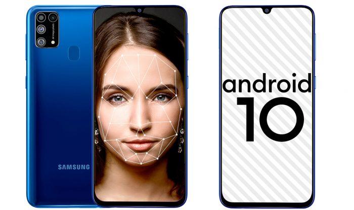 Samsung Galaxy M31 Face Unlock
