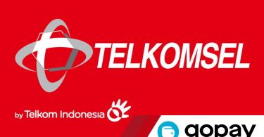 Telkomsel Logo Feature GoPay