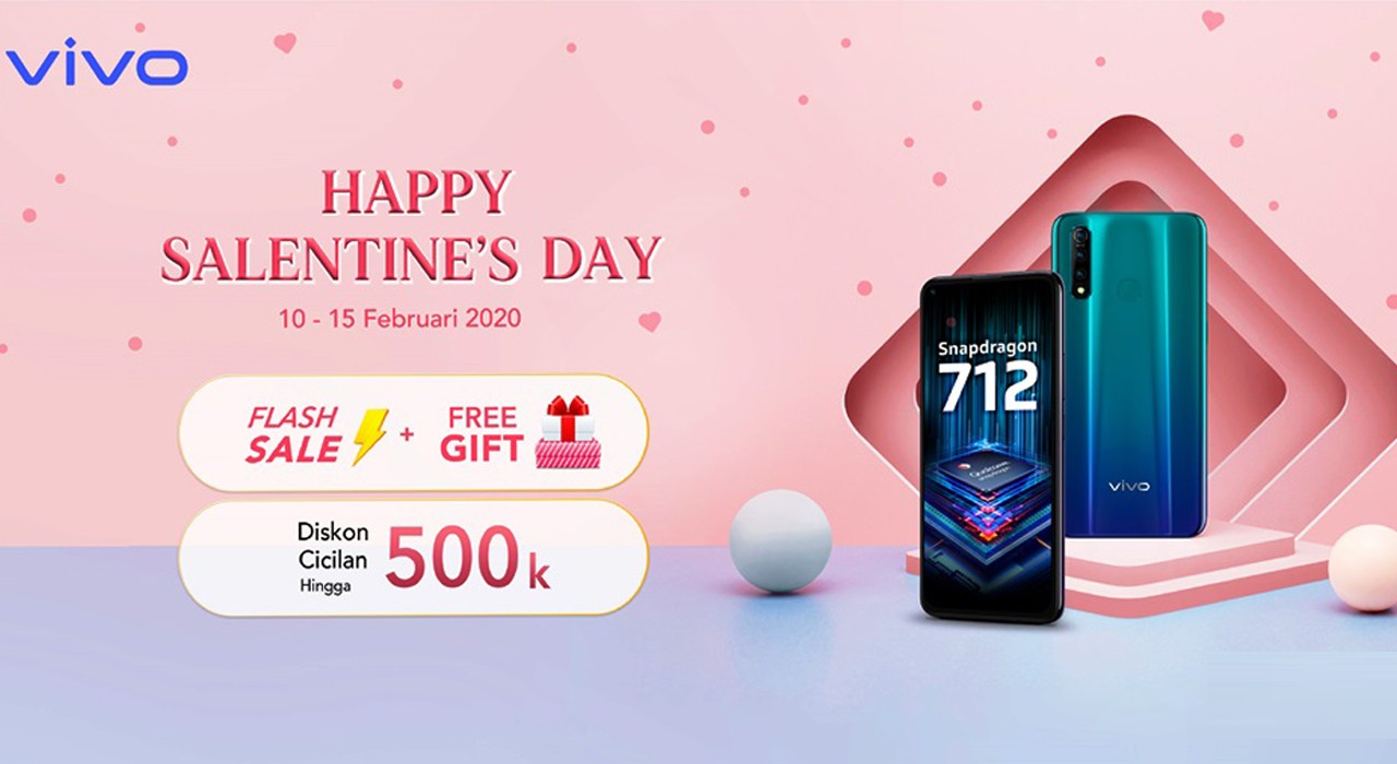 Vivo Happy Salentine Day Header