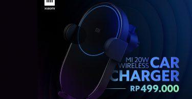Xiaomi Mi 20W Wireless Car Charger Header