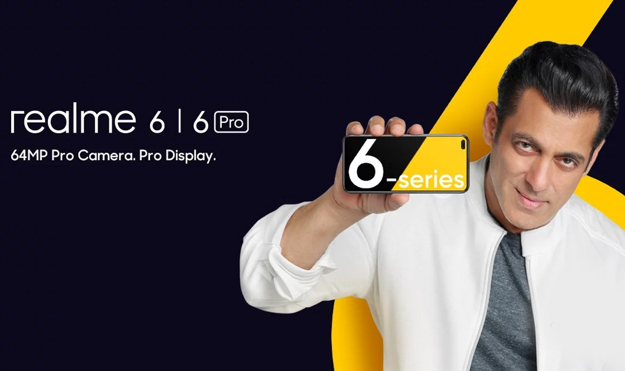 realme 6 launch poster header