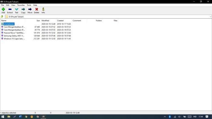 Aplikasi yang Wajib Ada di Laptop Windows 10 - 7Zip
