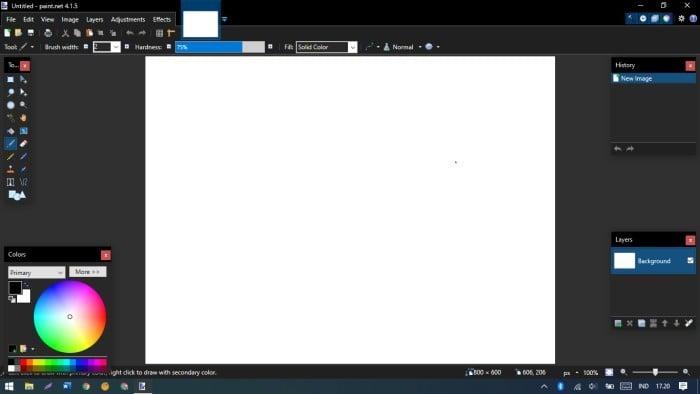 Aplikasi yang Wajib Ada di Laptop Windows 10 - Pain.NET