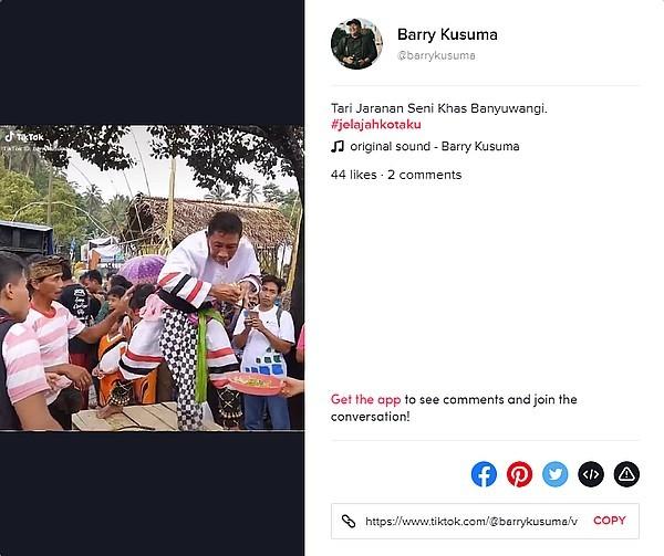 Barry Kusuma TikTok Banywangi