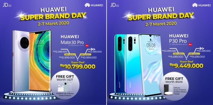 huawei Super Brand Day Promo