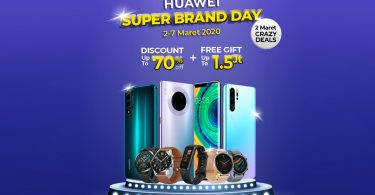 HUAWEI Super Brand Day Feature