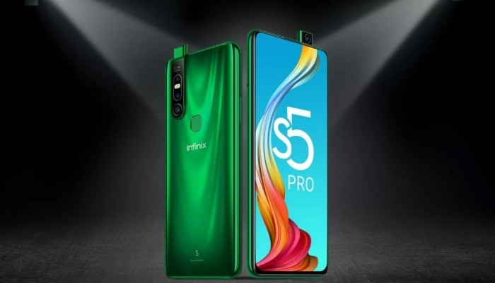 Infinix S5 Pro Depan