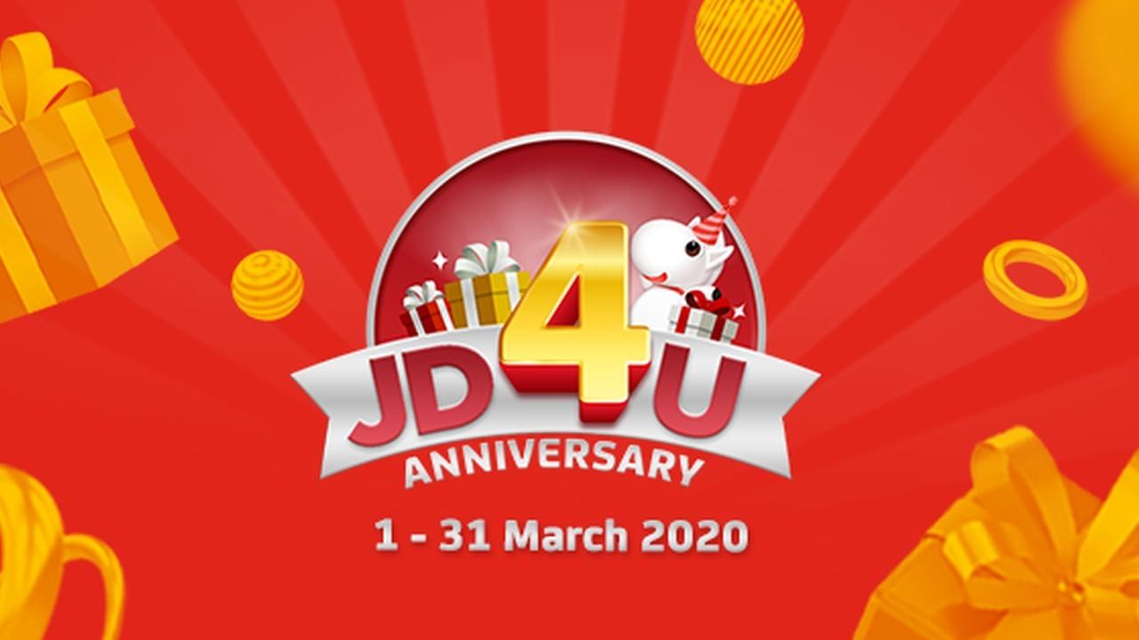 JD4U Anniversary header
