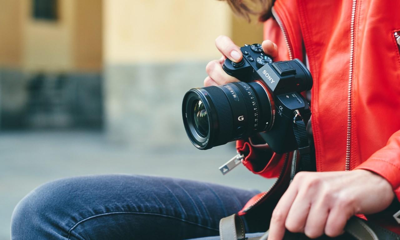 Lensa Sony FE 20mm F1.8 G Header
