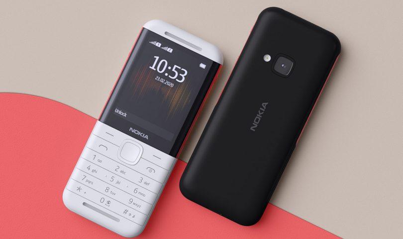 Nokia 5310 Front Back