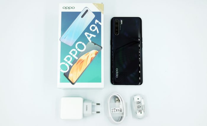 OPPO A91 with All