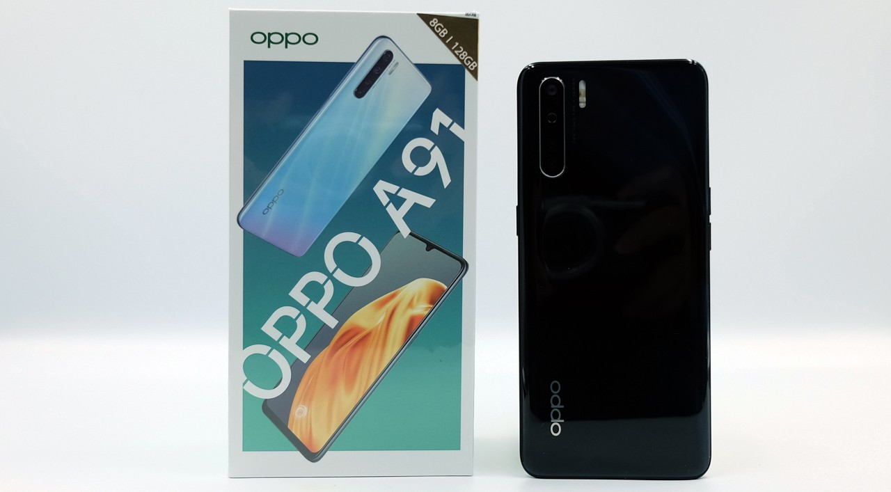 OPPO A91 with Box