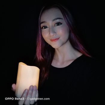OPPO Reno3 - Ultra Night Selfie