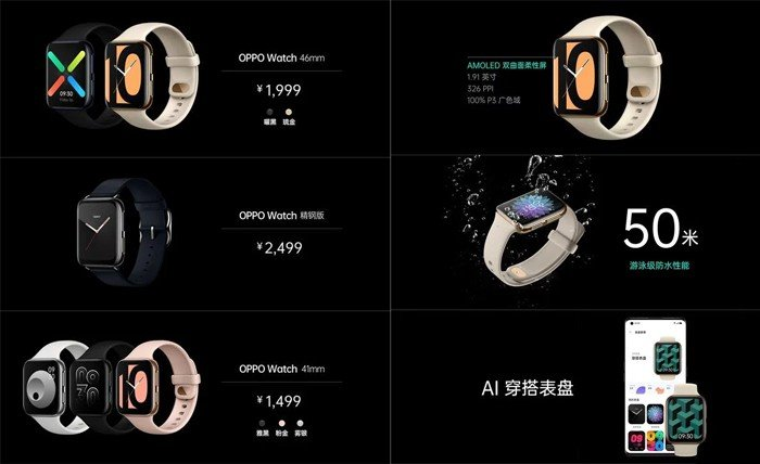 OPPO Watch variant