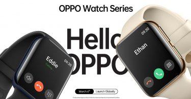 OPPO Watch Series Launch Header