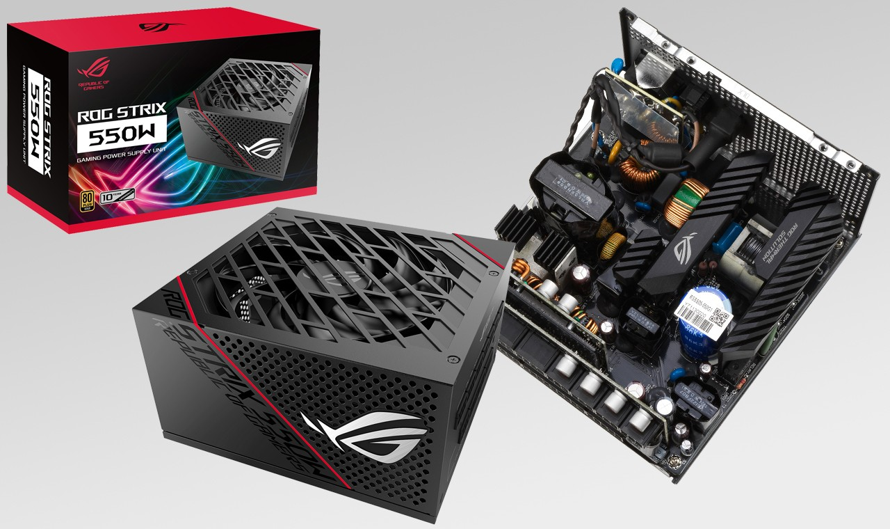 PSU ROG Strix 550W Gold Feature