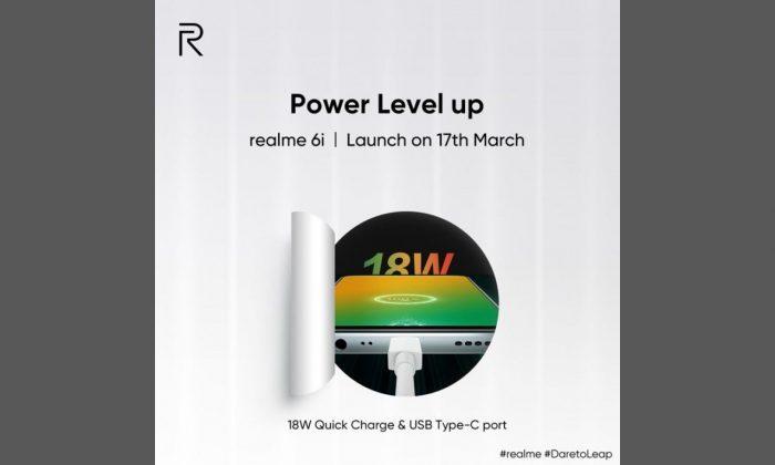 Poster Peluncuran Realme 6i