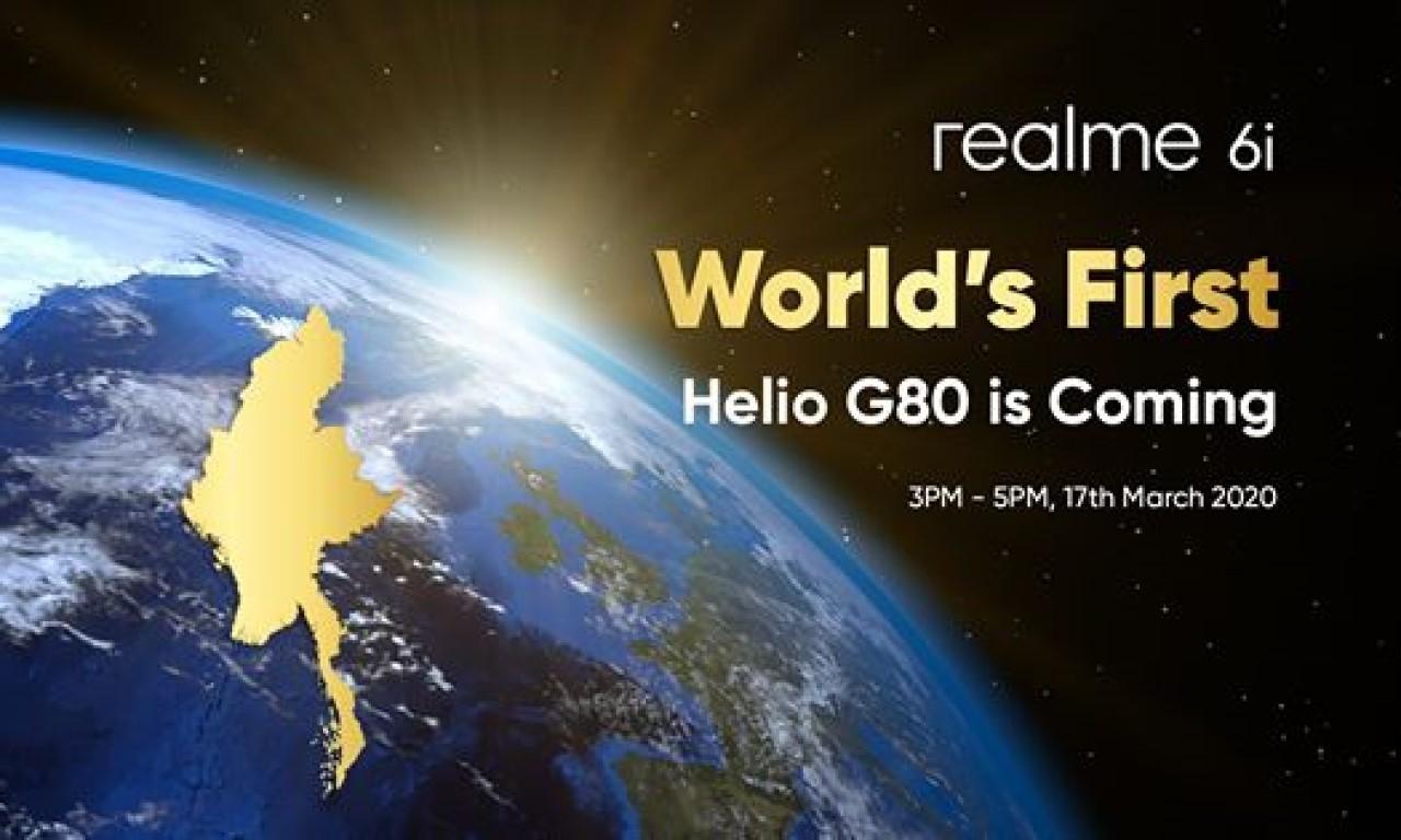 Poster Peluncuran Realme 6i Header