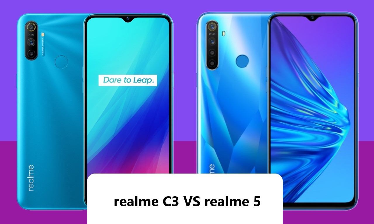Realme C3 Vs Realme 5 Header