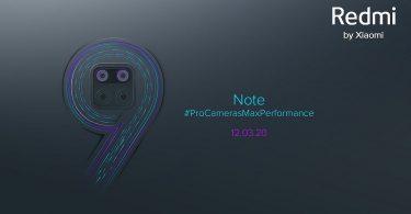 Redmi Note 9 Teaser Header