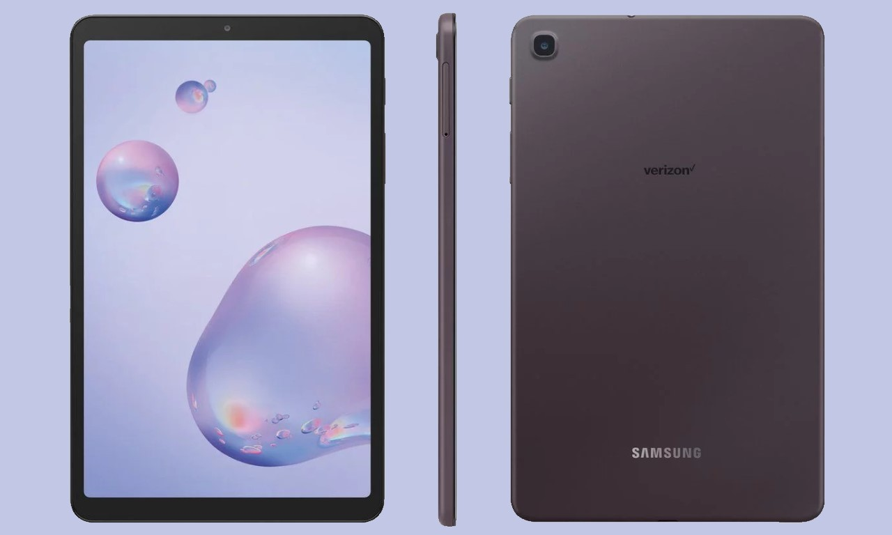 Render Samsung Galaxy Tab A8.4 (2020)