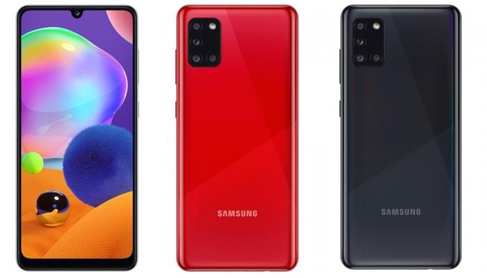 Samsung Galaxy A31 Desain