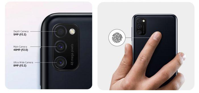 Samsung Galaxy M21 Camera
