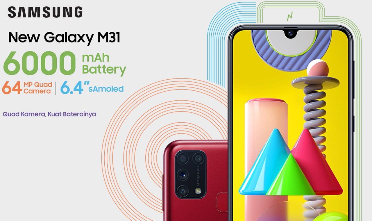 Samsung Galaxy M31 Feature Indonesia
